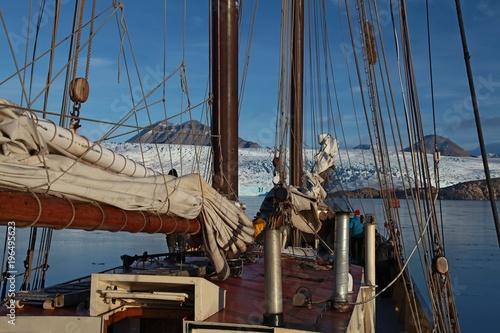 Tuinposter Schip ahoi