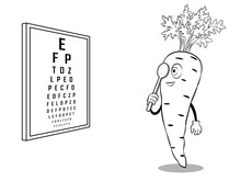 Carrot Check Vision Coloring V...