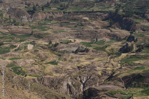 Papiers peints Cappuccino Colca Canyon Peru. Mountains