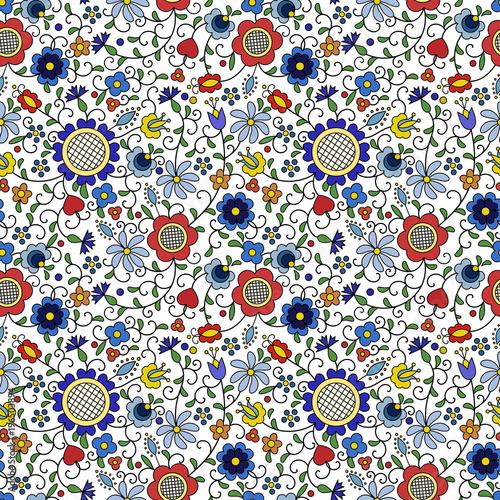tradycyjny-nowoczesny-polski-kaszubski-kwiatowy-wzor-ludowy