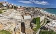 Roman amphitheatre, UNESCO world heritage site, Tarragona, Catalonia, Spain.