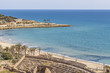 View of the front maritime of Tarragona,Catalonia,Spain.