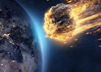 Asteroid fliegt auf Erde zu