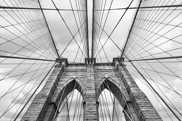 Brooklyn bridge in NYC, USA