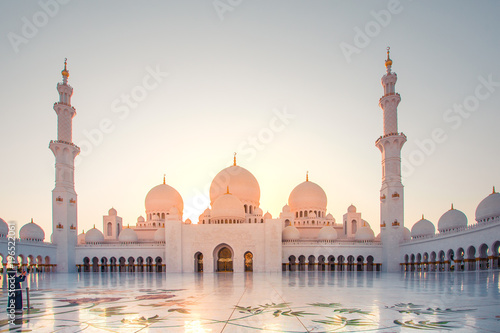 Printed kitchen splashbacks Abu Dhabi Sheikh Zayed Mosque