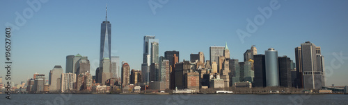 Fotografía Manhattan Skyline and One World Trade Center