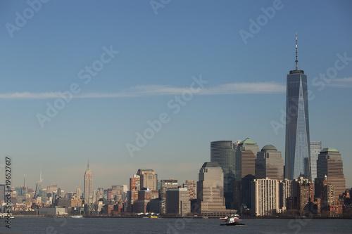 Photo  Manhattan, World Trade Center and Empire State