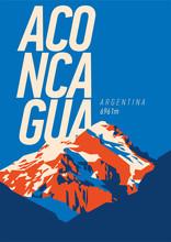 Aconcagua In Andes, Argentina ...