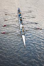 Rowing Boat In Adelaide, Australia