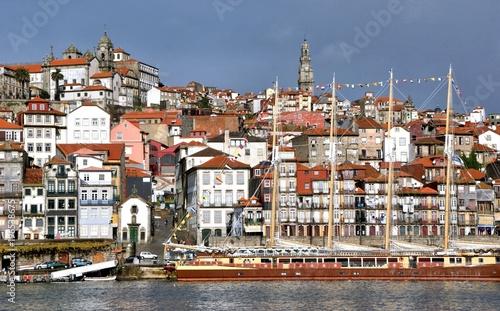 Ribeira view in Oporto, Portugal