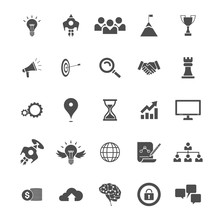 Business Planning Icons