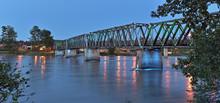 Stahlbrücke Quesnel Kanada