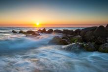 St. Augustine Florida Ocean Be...