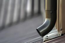 Brown New Gutter Metal System ...