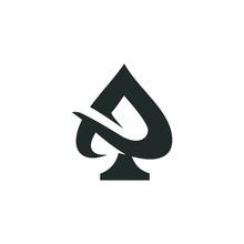 Ace Logo Vector Graphic Outlin...