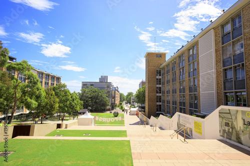 Stampa su Tela Landscape photo of University of New South Wales Kensington Campus