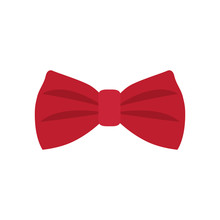 Red Bowtie Icon
