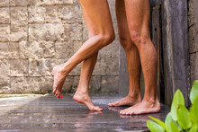 Couple Having Shower Together
