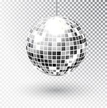 Mirror Glitter Disco Ball Vect...