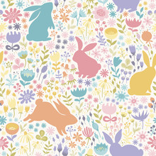 Seamless Pattern Of Multicolor...