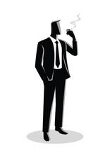 Illustration Of A Businessman ...