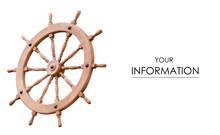 Wooden Steering Wheel Pattern