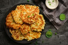 Homemade Irish Potato Pancakes (Boxty) / St.Patrick Day Food