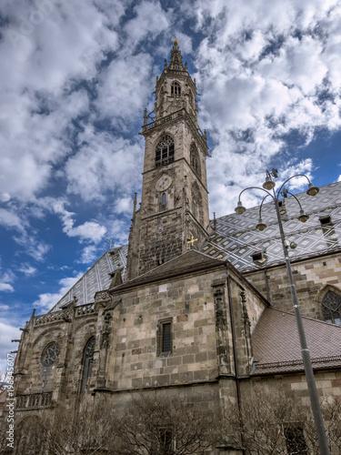 Fotografie, Obraz  Bolzano cathedral, Santa Maria Assunta