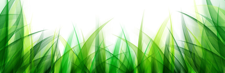 Fototapeta Łąka Delicate abstract grass leaves background. Suitable for nature concept, vacation, and summer holiday.