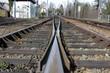 Train sur passage à niveau