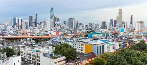 Papiers peints Paris Bangkok Skyline Sunset Panorama