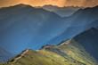 Leinwandbild Motiv View from Kasprowy Wierch Summit in the Polish Tatra Mountains