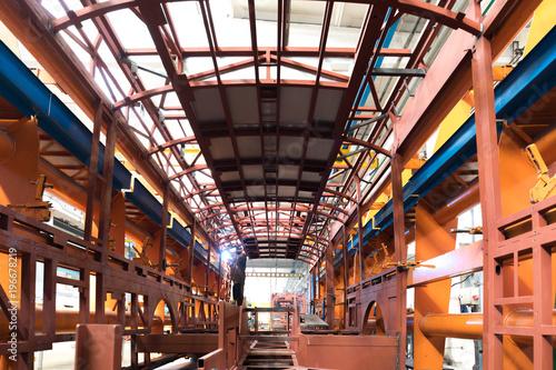 Canvas Prints Antwerp Bus production manufacture