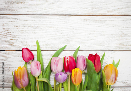Foto op Plexiglas Tulp tulips