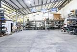 Fototapeta Przestrzenne - warehouse industrial interior