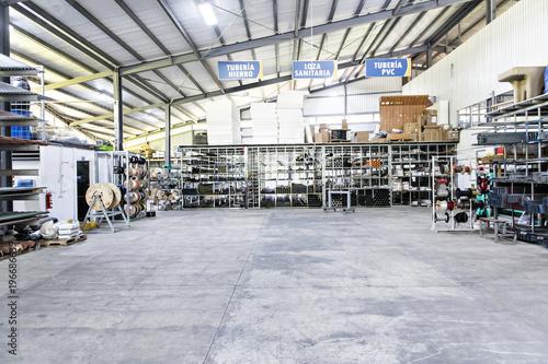 warehouse industrial interior