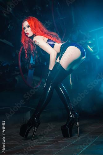 Redhead latex rubber