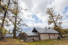 Village Beside Kanas Lake