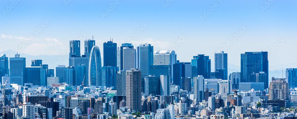 Fototapety, obrazy: 新宿副都心の高層ビル