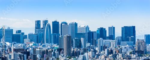 新宿副都心の高層ビル Canvas-taulu