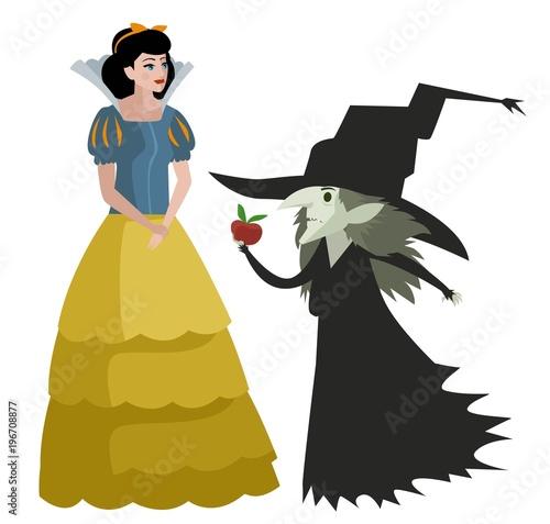 Fotomural classic tale princess woman