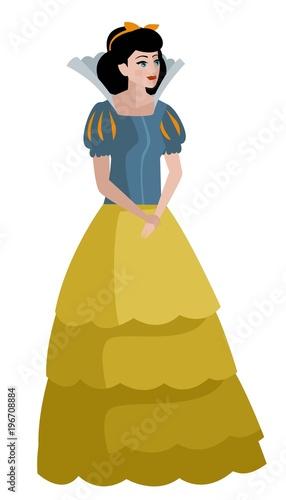 Fotografie, Obraz classic tale princess woman
