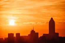 Taipei Sunset Skyline, Taiwan