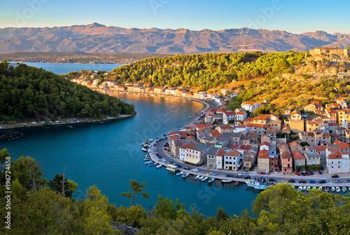 Recess Fitting Turkey Novigrad Dalmatinski bay panoramic view