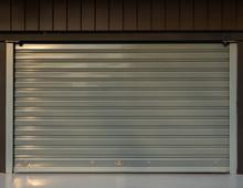 Shop With Steel Roller Shutter Door
