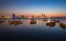 Twilight Over Bahrain