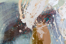 Abstract Oil Painting Backgrou...