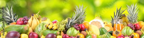 Poster Vruchten Fruit from the garden