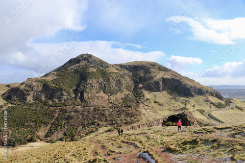 Arthur´s Seat, Edinburgh Canvas Print