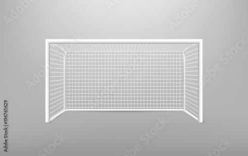 Football soccer goal realistic sports equipment Tapéta, Fotótapéta